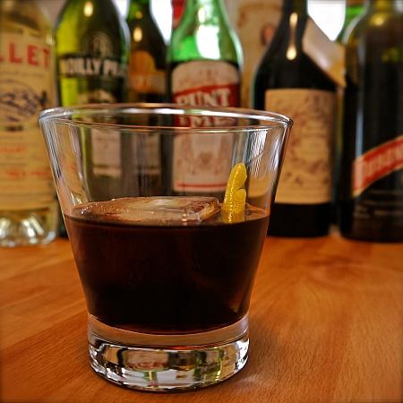 Verschiedene Vermouth